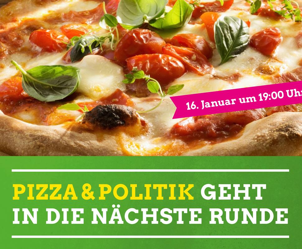 """""""Pizza & Politik"""" – lecker, locker, gut verträglich"""