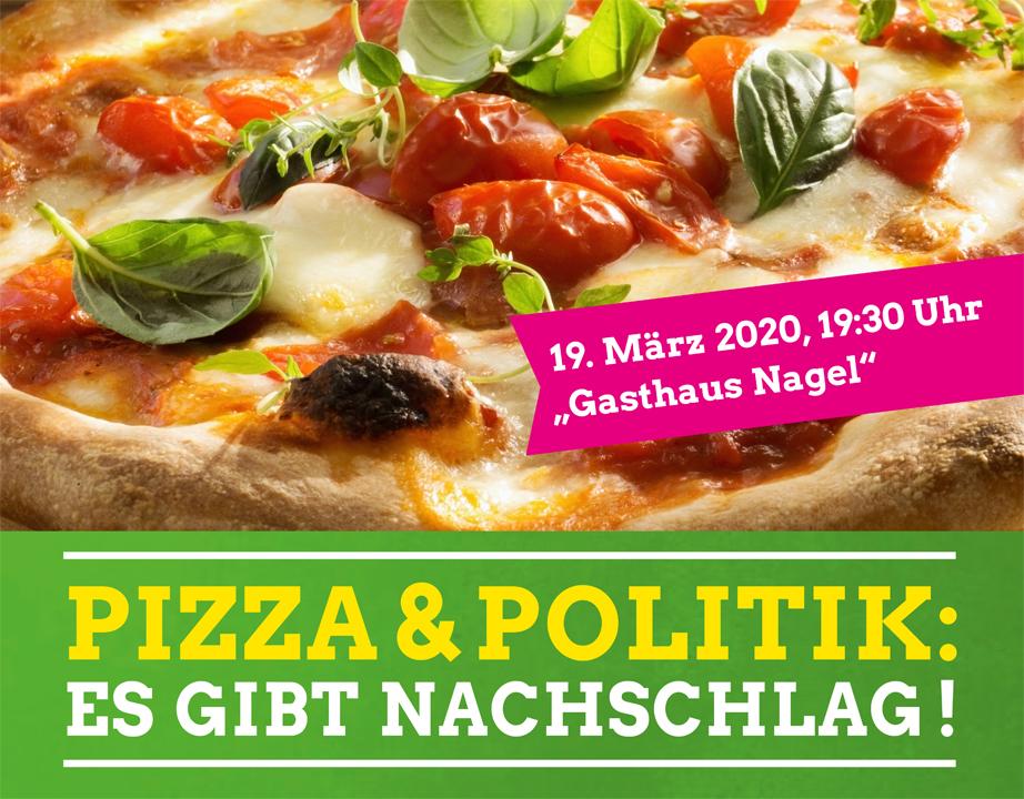 """Pizza & Politik """"Es gibt Nachschlag!"""""""