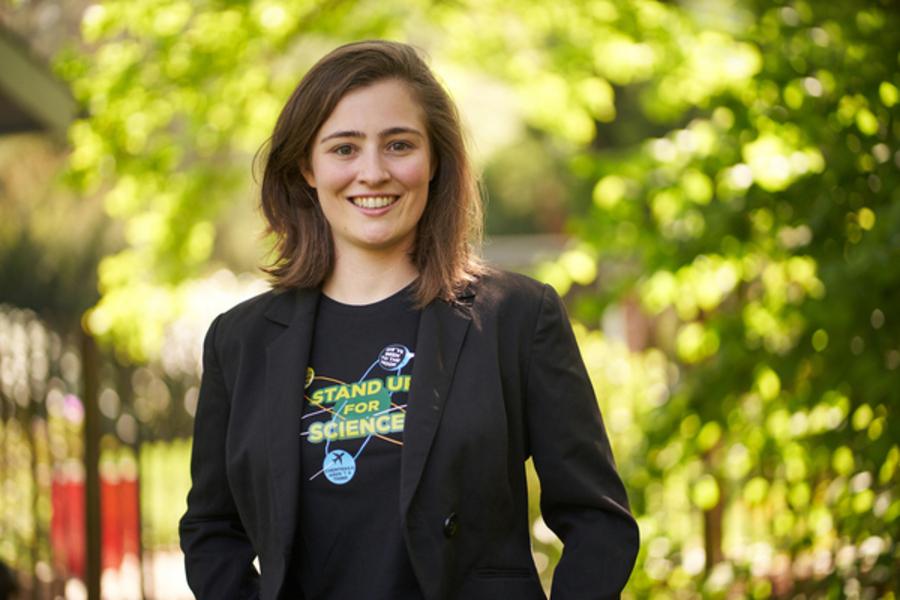 Grüne Oerlinghausen stellen Julia Eisentraut als Bürgermeisterkandidatin vor