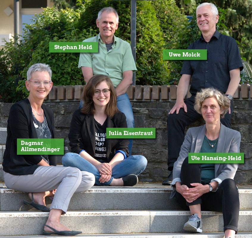 Unsere fünf Kandidat:innen für die Kernstadt