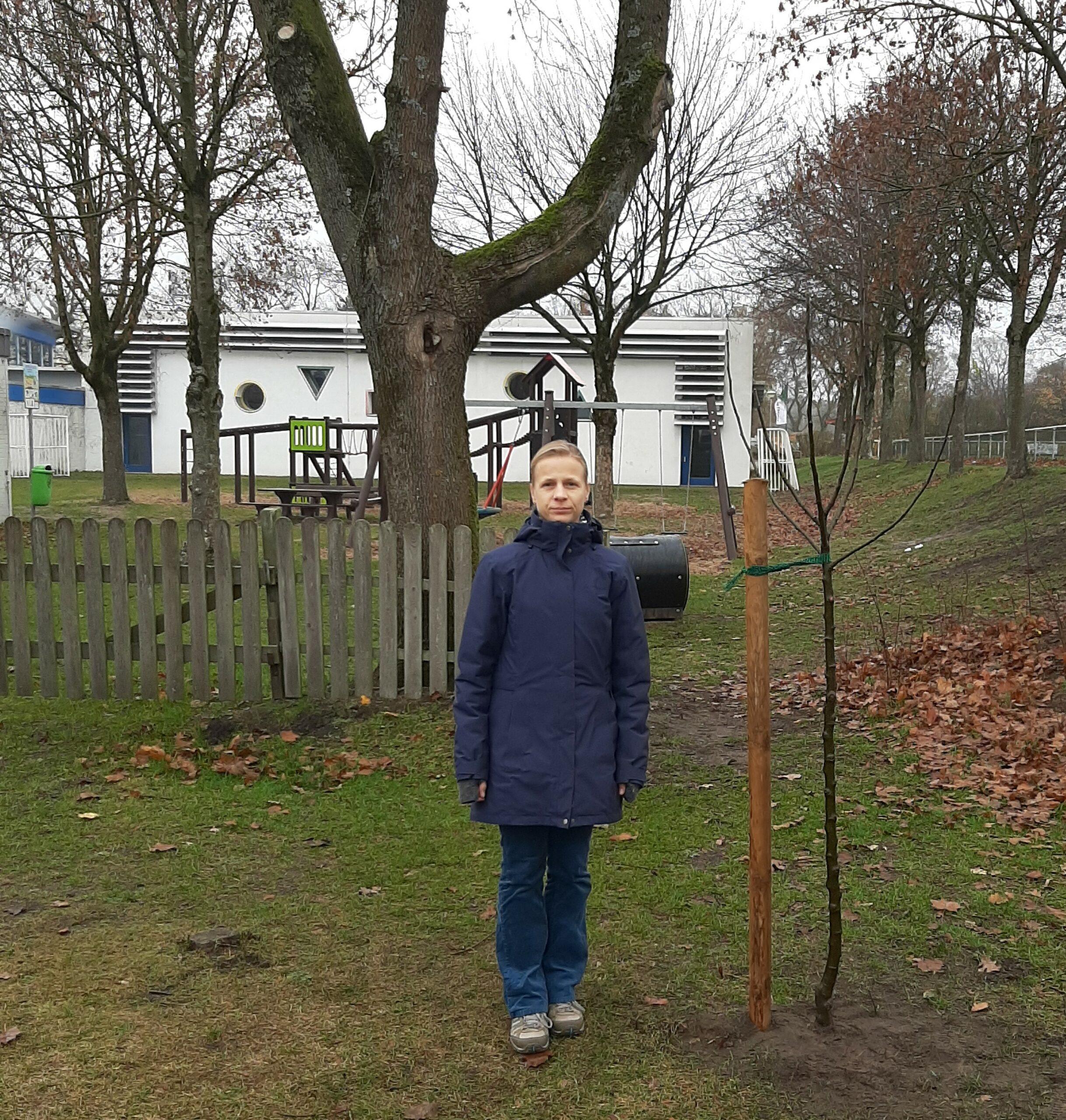 Ein Baum für jedes Grüne Ratsmandat…. z. B. in Lipperreihe